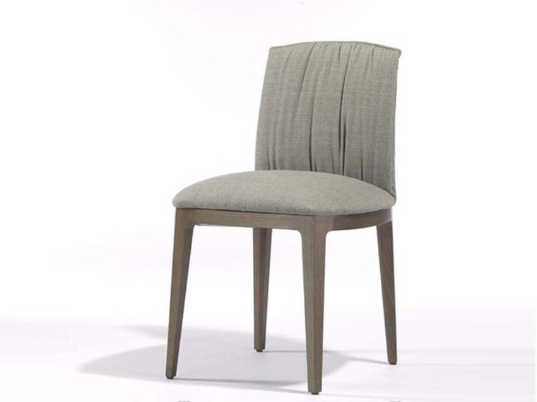 Upholstered fabric chair BLOSSOM   Chair by Potocco