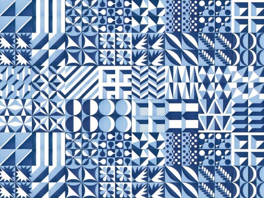 Ceramic wall tiles / flooring BLU PONTI by FRANCESCO DE MAIO