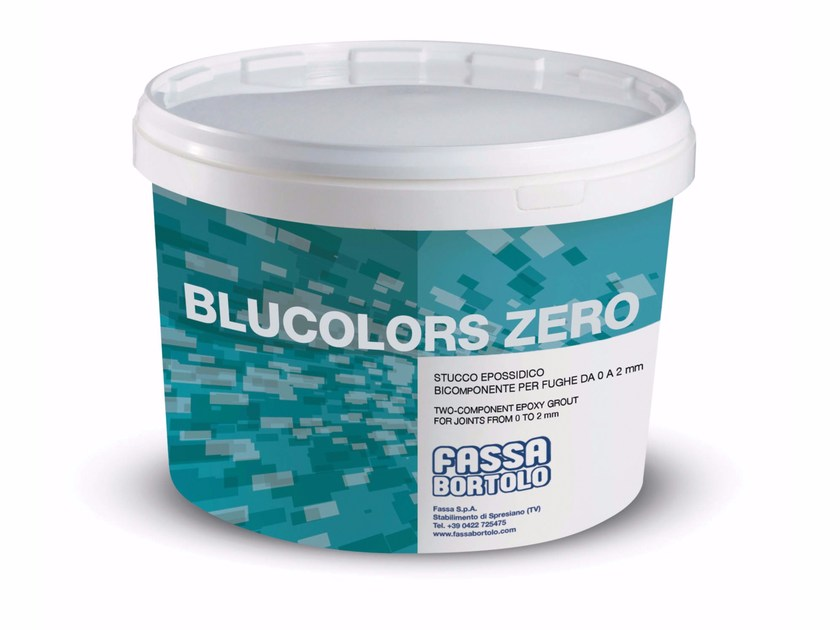 Flooring grout BLUCOLORS ZERO by FASSA