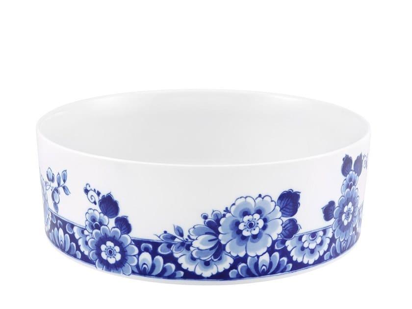 Porcelain salad bowl BLUE MING 26 | Salad bowl by Vista Alegre