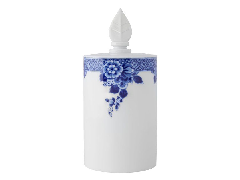 Porcelain cookie jar BLUE MING | Cookie jar by Vista Alegre