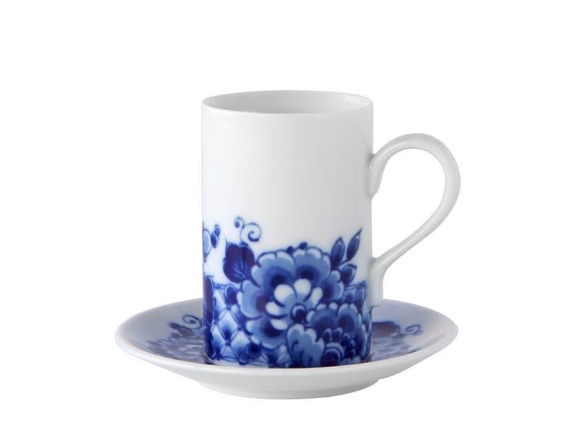Porcelain espresso cup with saucer BLUE MING | Espresso cup by Vista Alegre