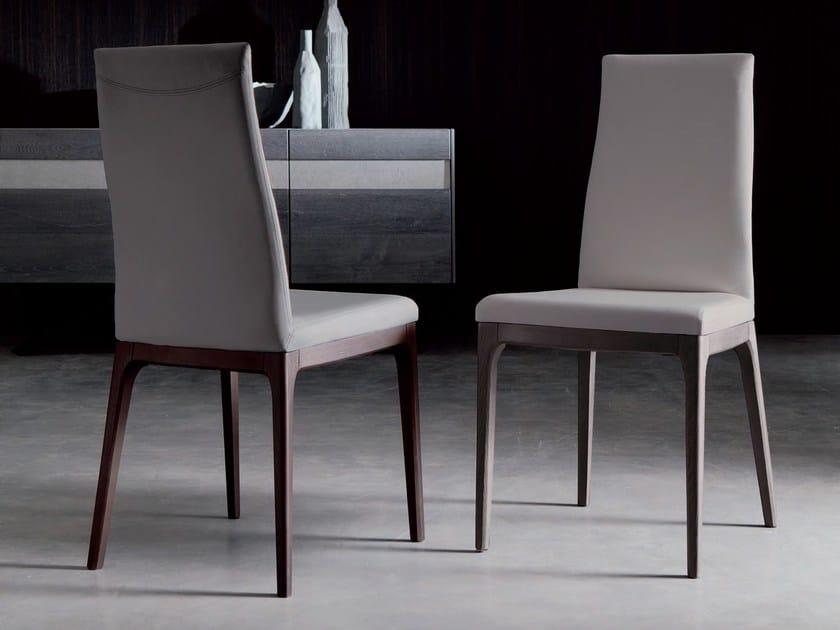 Sedia con schienale alto BLUES by Ozzio Italia