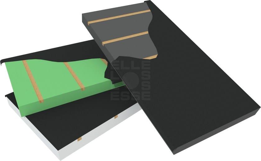 Thermal insulation panel BLUTEGOLA G WOOD by ELLE ESSE