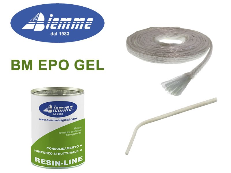 Structural adhesive BM EPO GEL by Biemme
