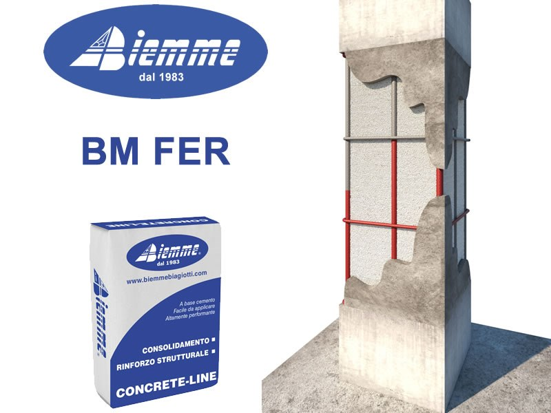Rust prevention and converter product BM FER by Biemme