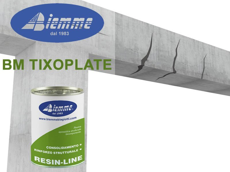 Structural adhesive BM TIXOPLATE by Biemme