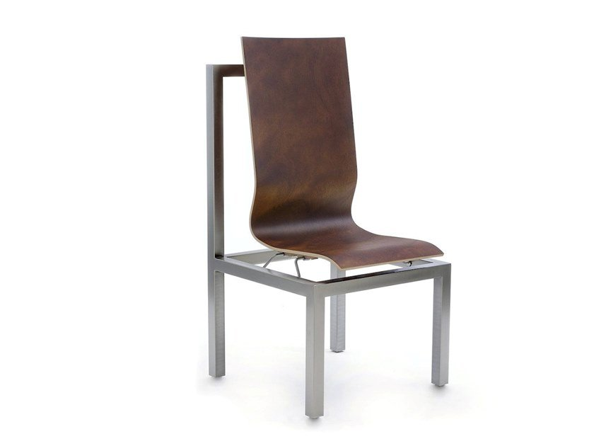 Leather chair BNF by COEDITION