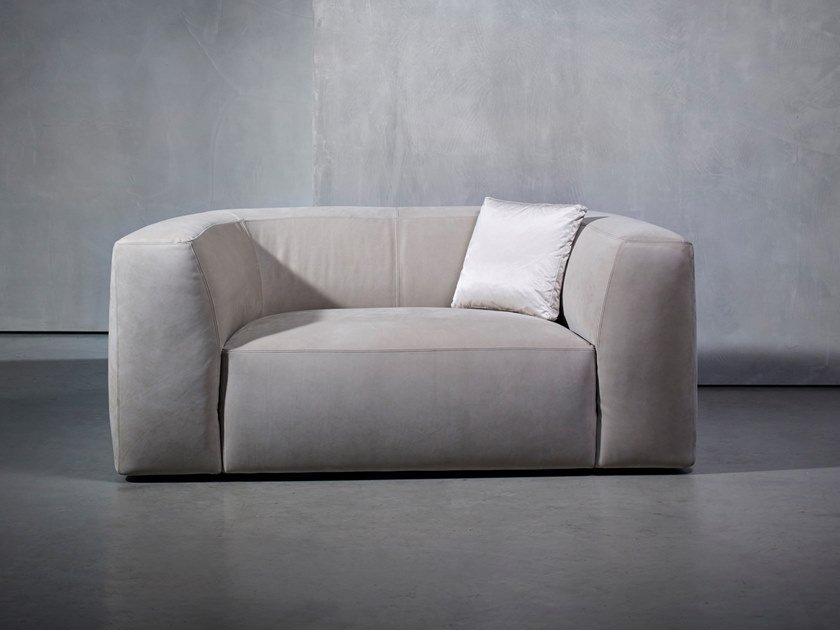 Fabric small sofa BO LIVING | Small sofa by Piet Boon