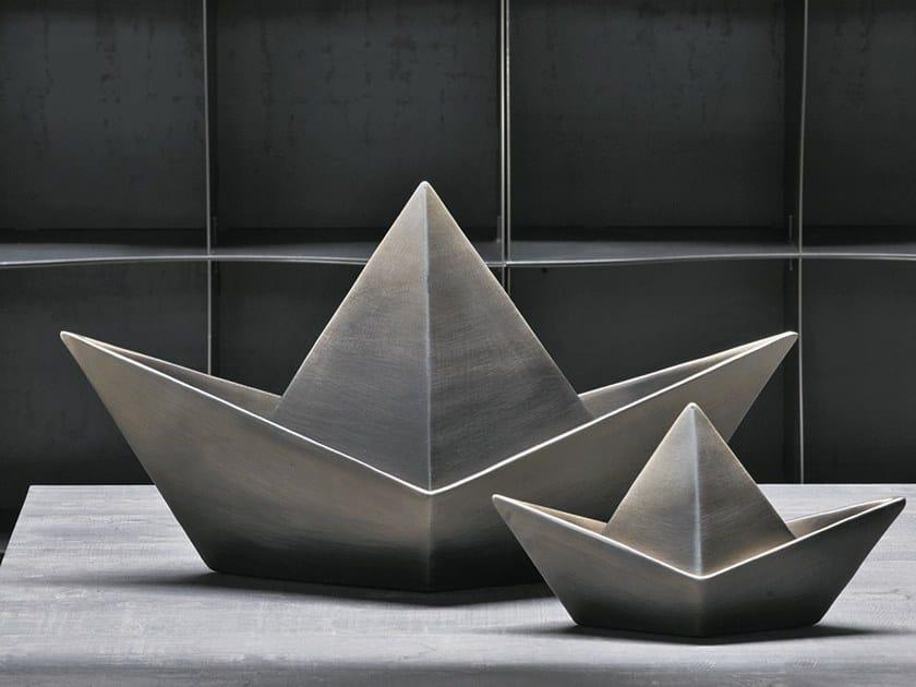 Ceramic decorative object BOAT by Adriani e Rossi edizioni