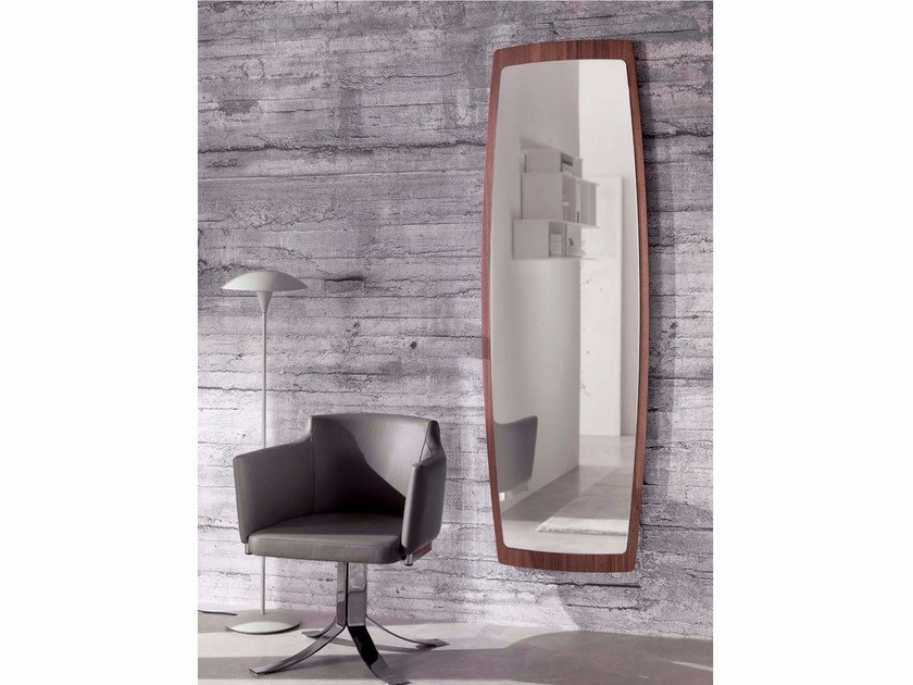 Wall-mounted framed rectangular mirror BOAT | Rectangular mirror by Ozzio Italia