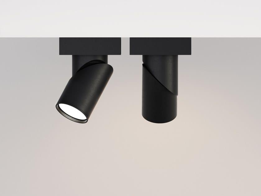Faretto a LED orientabile in alluminio BOB BASE by Letroh