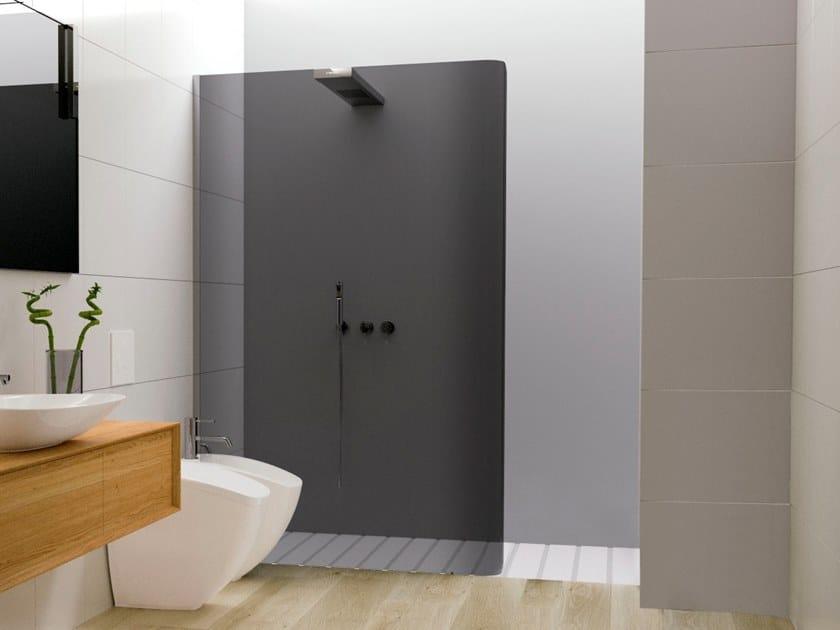 Niche crystal Walk in shower BOBOX A | Shower cabin by RELAX