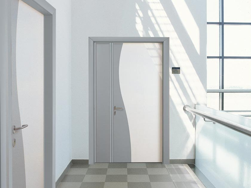 Hinged laminate door BODY by COCIF