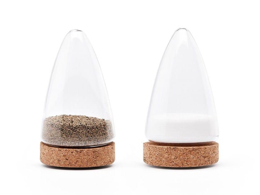 Glass salt and pepper shaker BOEIEN | Salt and pepper shaker by Puik