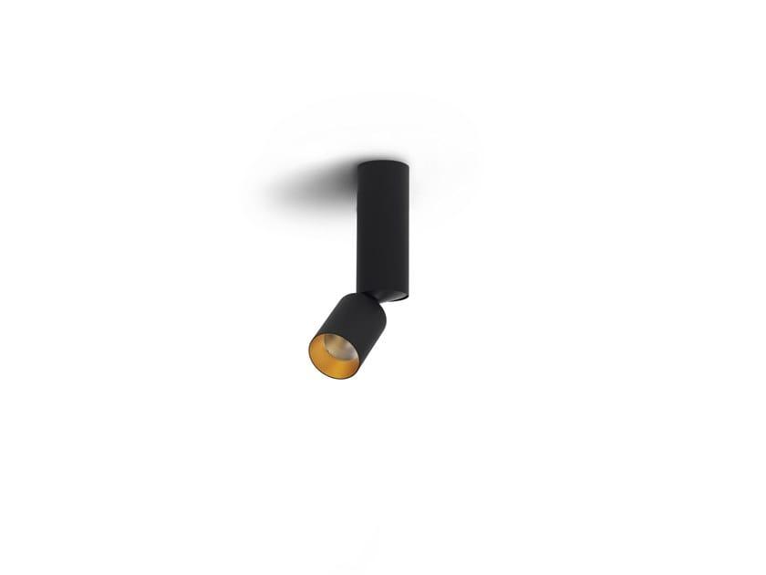 Faretto orientabile a soffitto BOGD TUBED by Orbit
