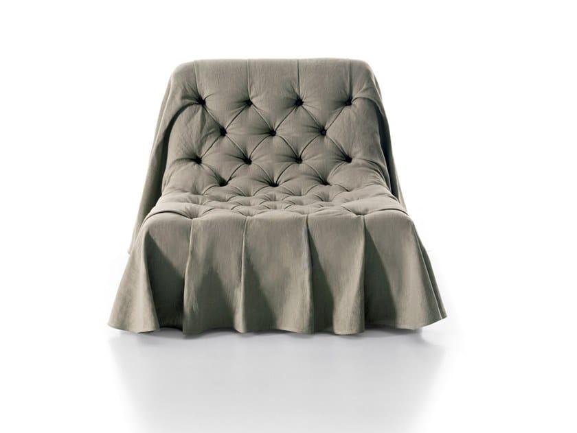 Tufted armchair BOHÉMIEN | Armchair by Busnelli