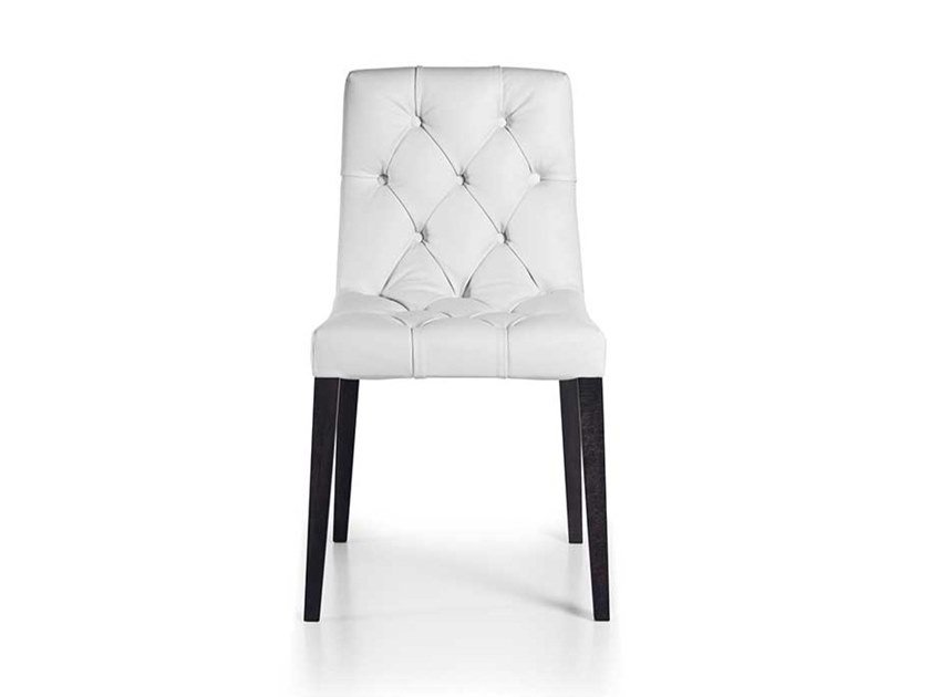 Tufted upholstered chair BOHÉMIEN | Chair by Busnelli