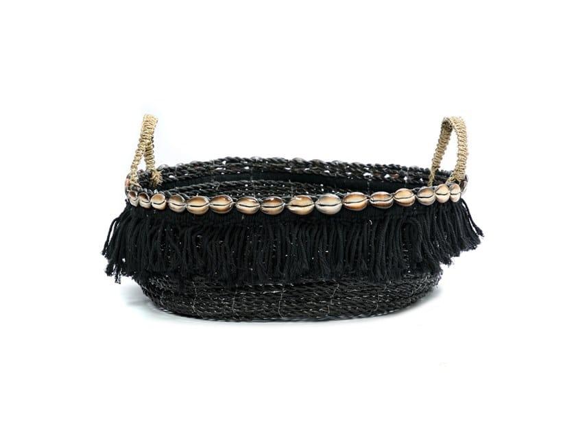 Natural fibre basket BOHO | Basket by Bazar Bizar