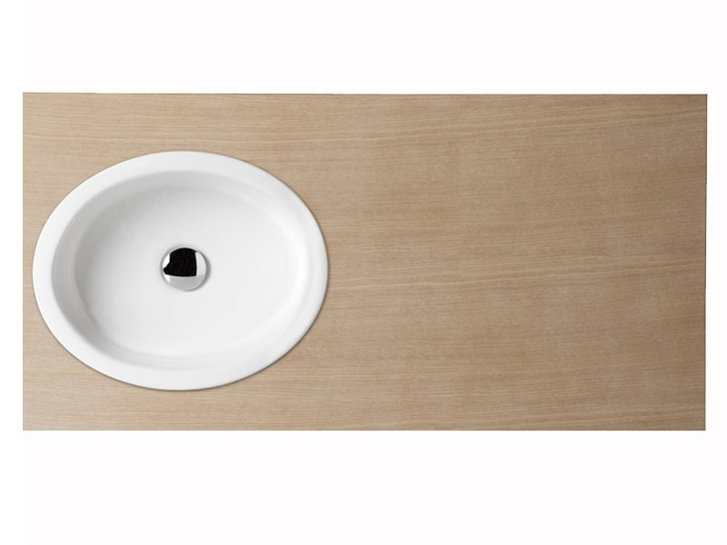 Countertop oval washbasin BOING 45 | Washbasin by GSG Ceramic Design