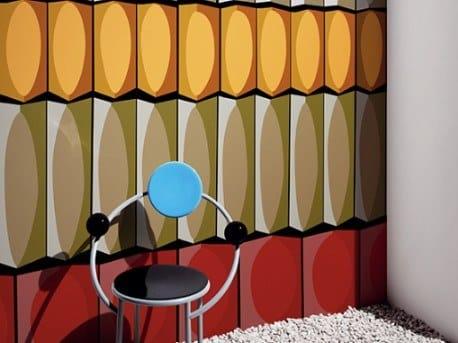 Ecological fire retardant wallpaper BOITE A BONBONS by Wall&decò