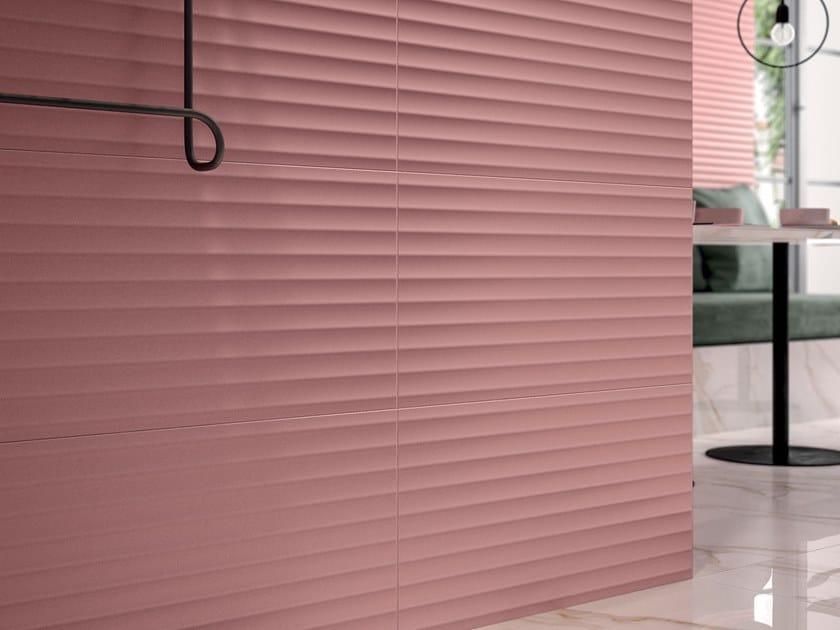White-paste 3D Wall Cladding BOLD MARSALA by Marca Corona