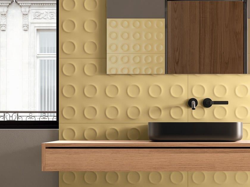 White-paste 3D Wall Cladding BOLD SENAPE by Marca Corona