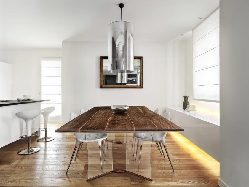 Piano per tavoli in legno BOLEFORM by Bole