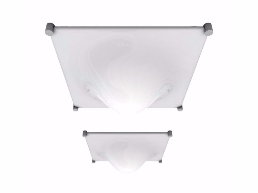 Methacrylate ceiling lamp BOLLA by Martinelli Luce
