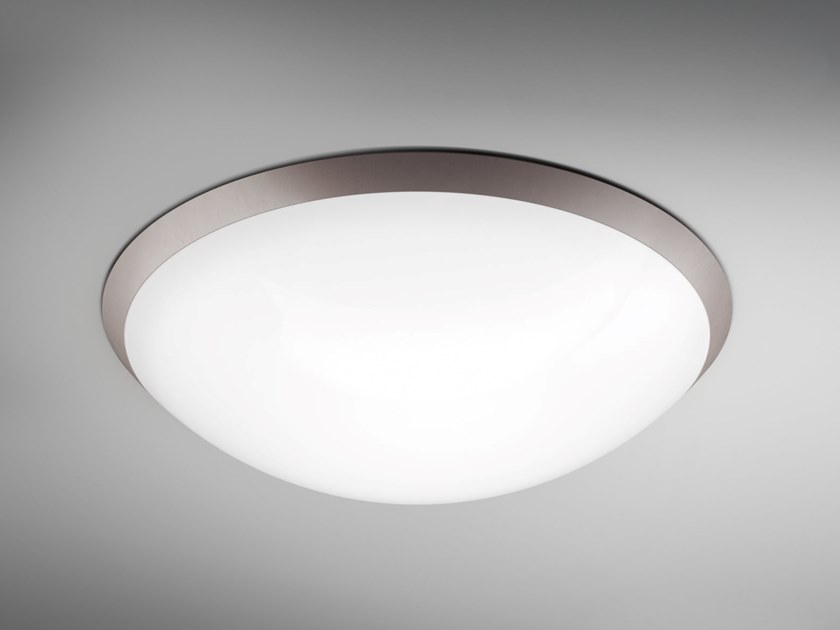 Plafoniera a LED in PMMA BOLLE by Makris