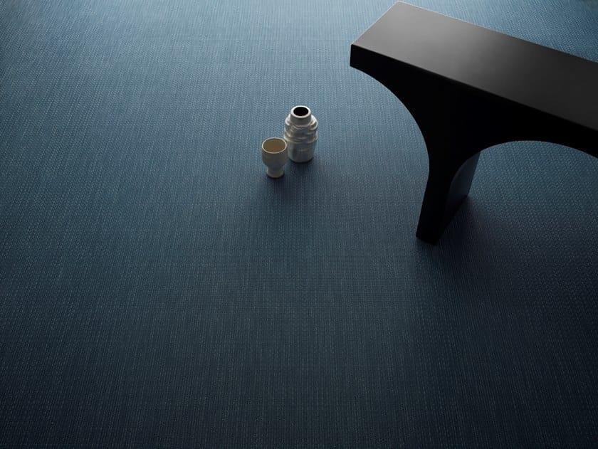 Vinyl fabric carpeting BOLON TATAMI ARTISAN TELI By LIUNI
