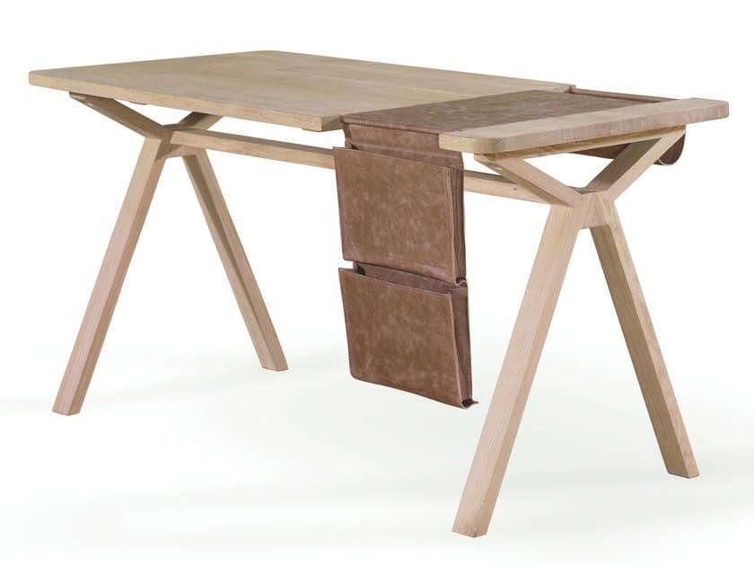 Oak writing desk BOLSA by Wewood