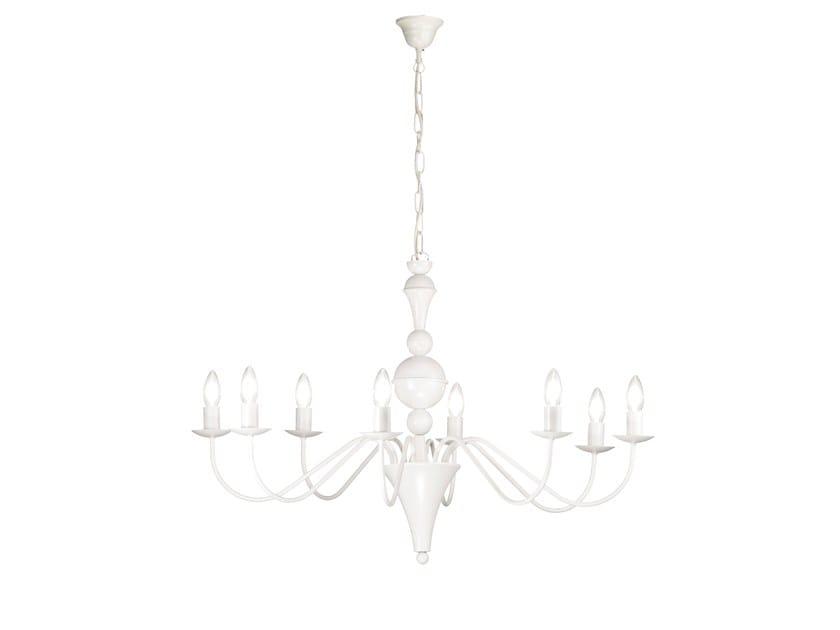 Metal chandelier BOLSHOI | Chandelier by ROSSINI