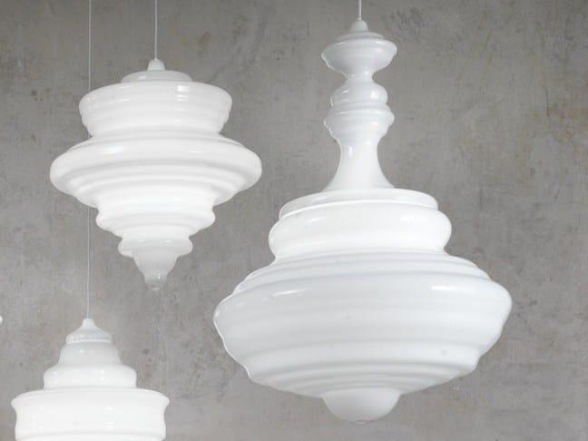 Blown glass pendant lamp BOLSHOI THEATRE by Lasvit