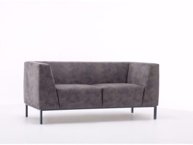 Leather sofa BOLT by ersa