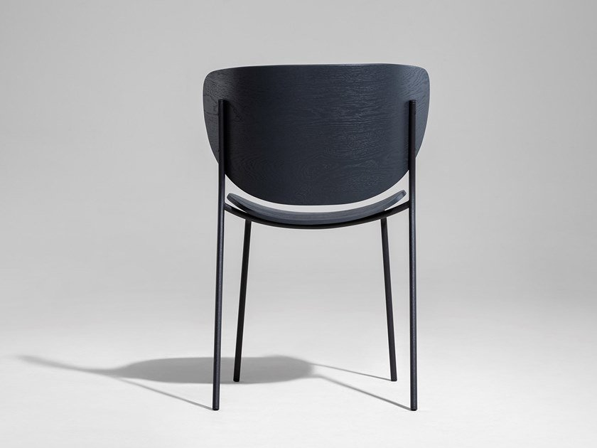 Stackable chair BOLTA by Nunc