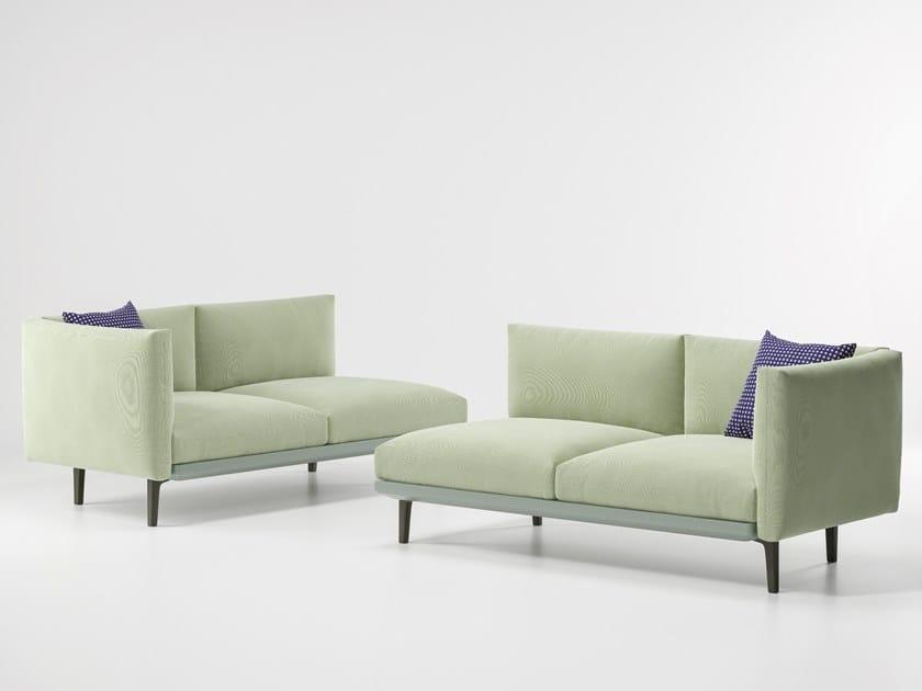 Modular fabric garden sofa BOMA | Modular garden sofa by KETTAL