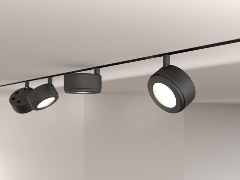 Illuminazione a binario a LED in alluminio BOMBO by Martinelli Luce