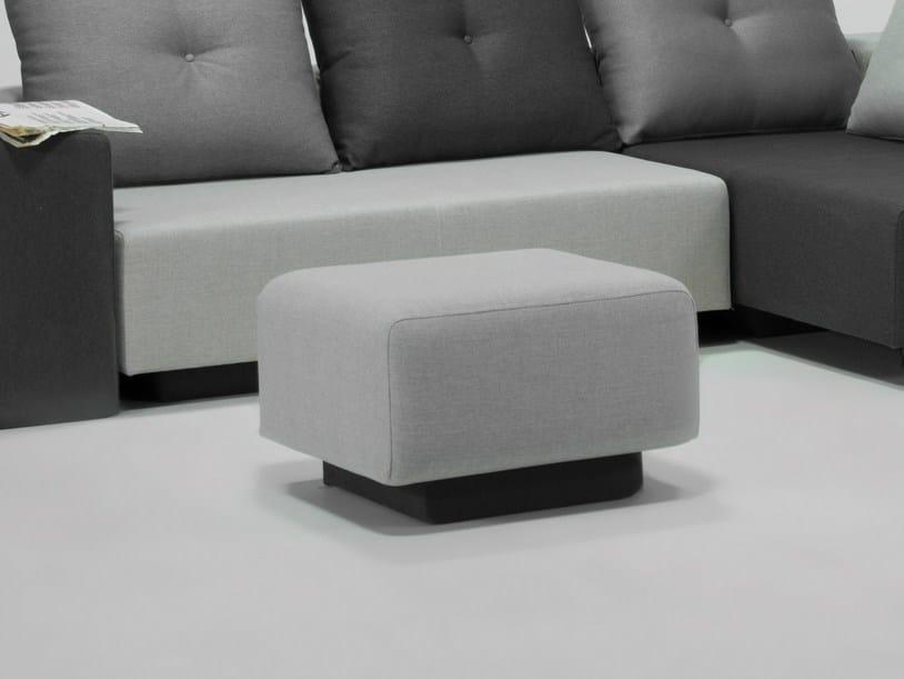 Storage upholstered pouf BON BON | Pouf by Feydom