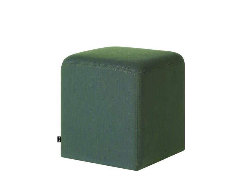 Pouf quadrato in tessuto BON CUBE | Pouf by Hem