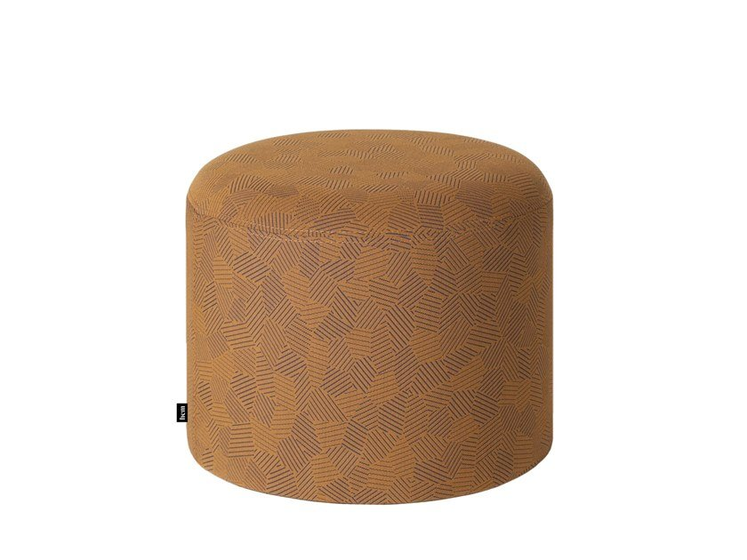 Pouf rotondo in tessuto BON ROUND   Pouf by Hem