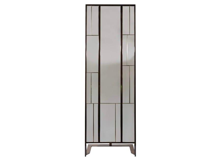Freestanding rectangular mirror BONAPARTE by HUGUES CHEVALIER