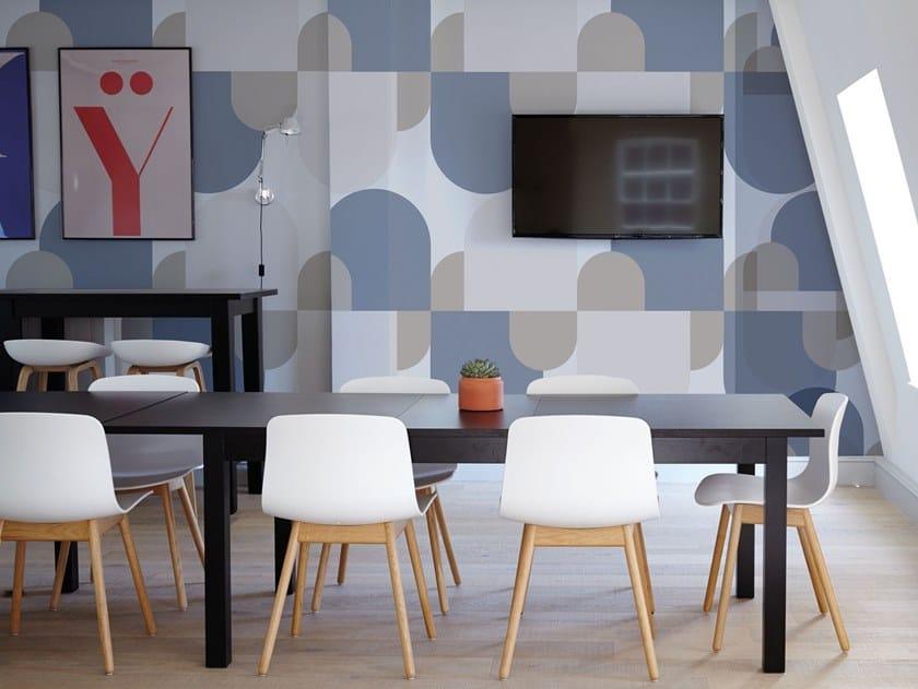 Fire retardant Digital printing wallpaper BONBON by NANNI GIANCARLO & C.