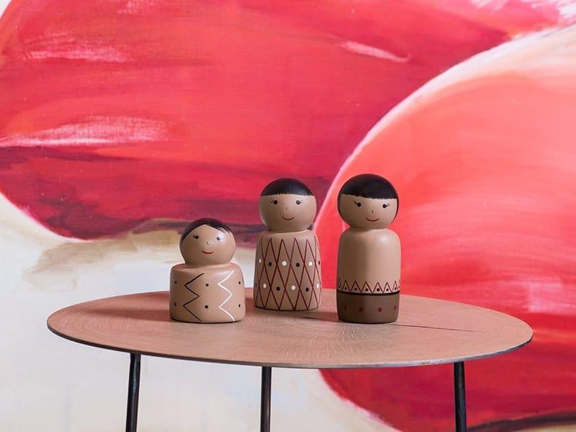 Soprammobile in ceramica BONECAS TRIBOS by Gardeco