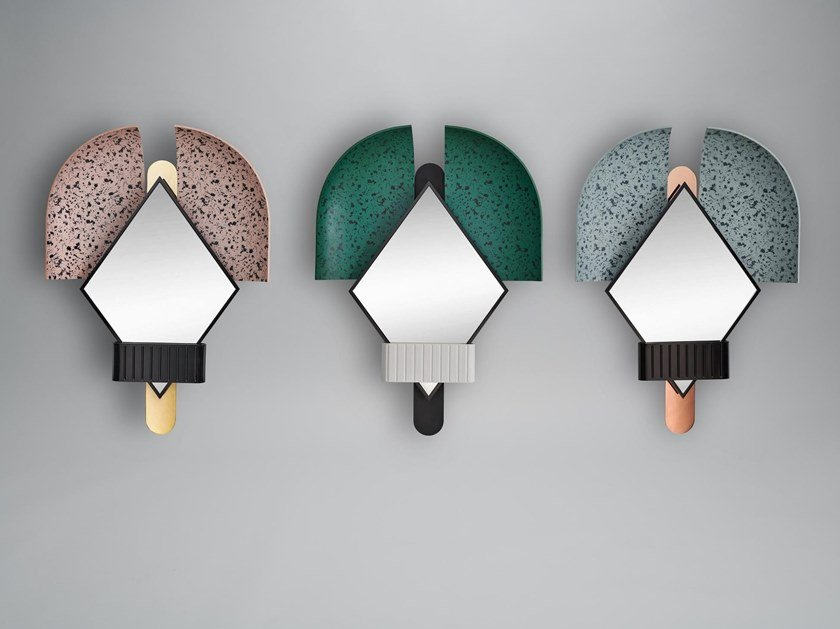 Contemporary style mirror BONNET by Houtique