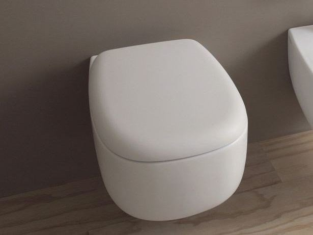 Wall-hung ceramic toilet BONOLA | Wall-hung toilet by Ceramica Flaminia