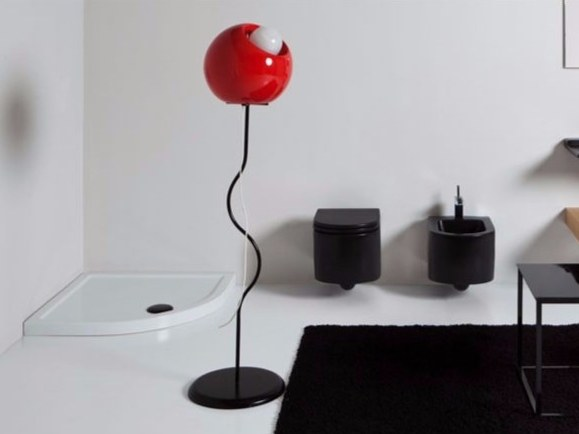 Ceramic floor lamp BOOL | Floor lamp by GSG Ceramic Design