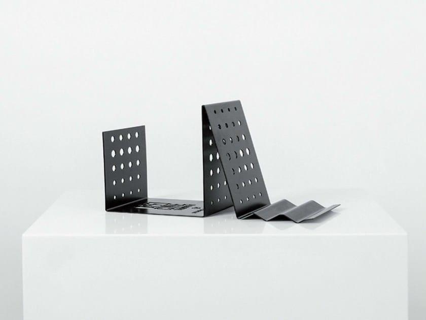 Plate bookend / Tablet support BORDERLINE by Officine Tamborrino
