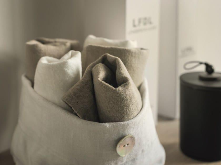 Linen storage box BORDI&CORNICI | Storage box by LA FABBRICA DEL LINO