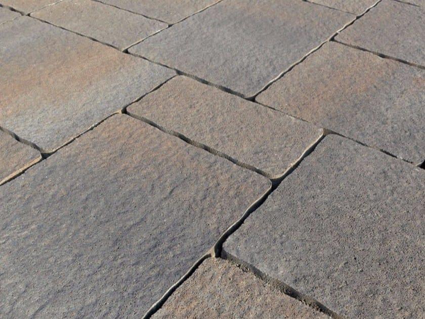 Concrete paving block BORGO VENETO FILTER by Micheletto
